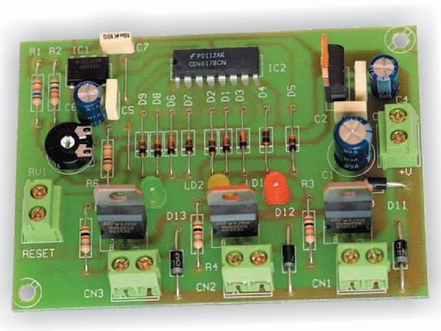 Cebek - Electronic Traffic Light Timer Module - I-91