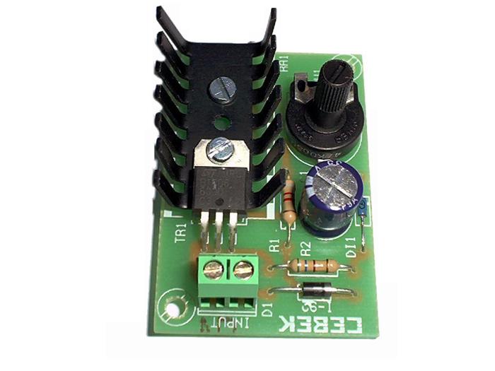 Kit CEBEK I-92 - Temporizador intermitente ou modulador de pulso