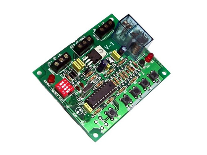 Cebek - Digital Flashing Timer Module - 0,1 Seconds to 497 Days - I-301