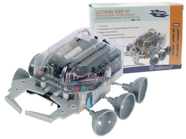 Kit VELLEMAN KSR5 - SCARAB ROBOT