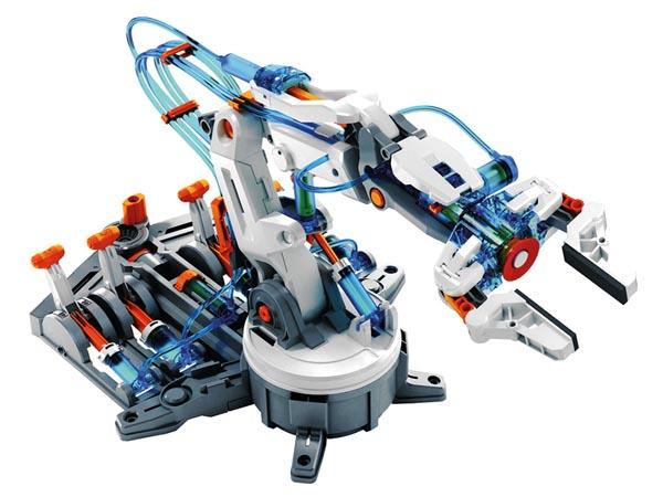 VELLEMAN Kit KSR12 - hydraulic robotic arm