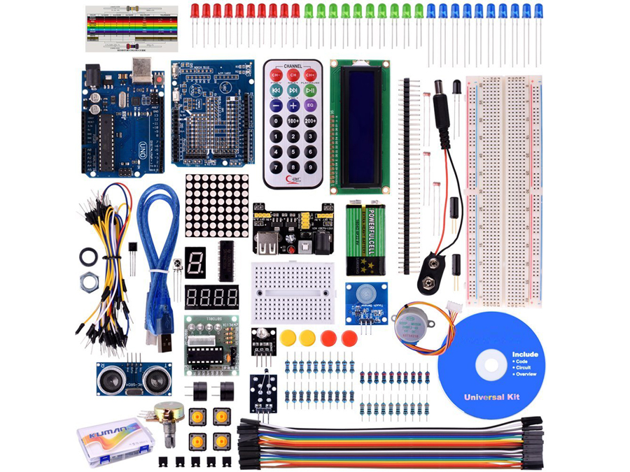 ARDUINO kit - Project SUPER STARTER KIT ARDUINO UNOR3 NANO KITS -  (equivalent: KUMAN)