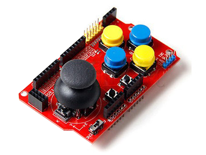 Arduino JOYSTICK SHIELD V1.A Board - FUT6212