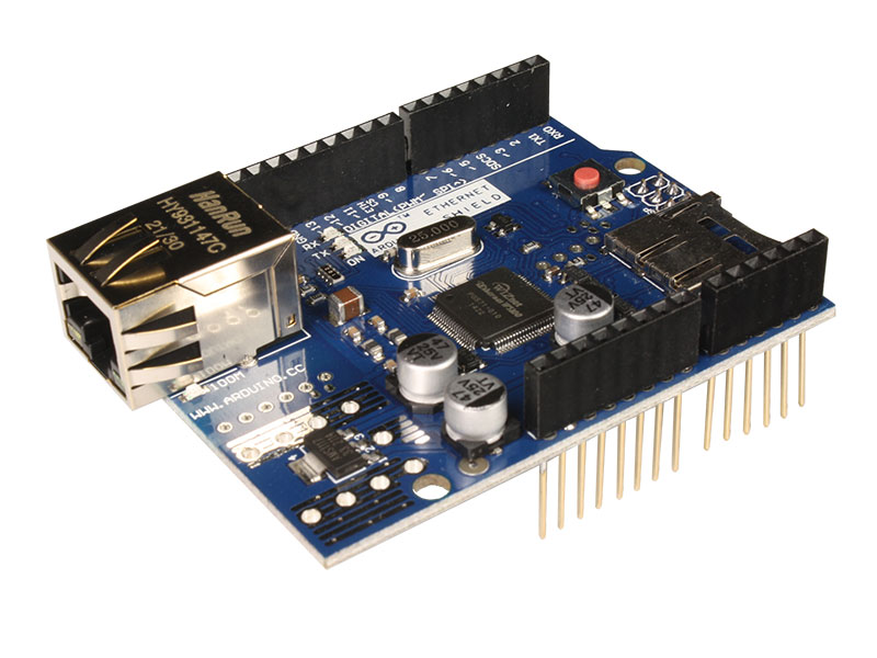 MÓDULO ARDUINO ETHERNET W5100 R3 SHIELD
