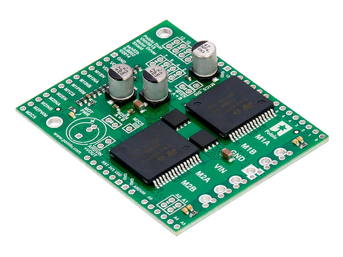 MÓDULO ARDUINO MOTOR SHIELD REV 3