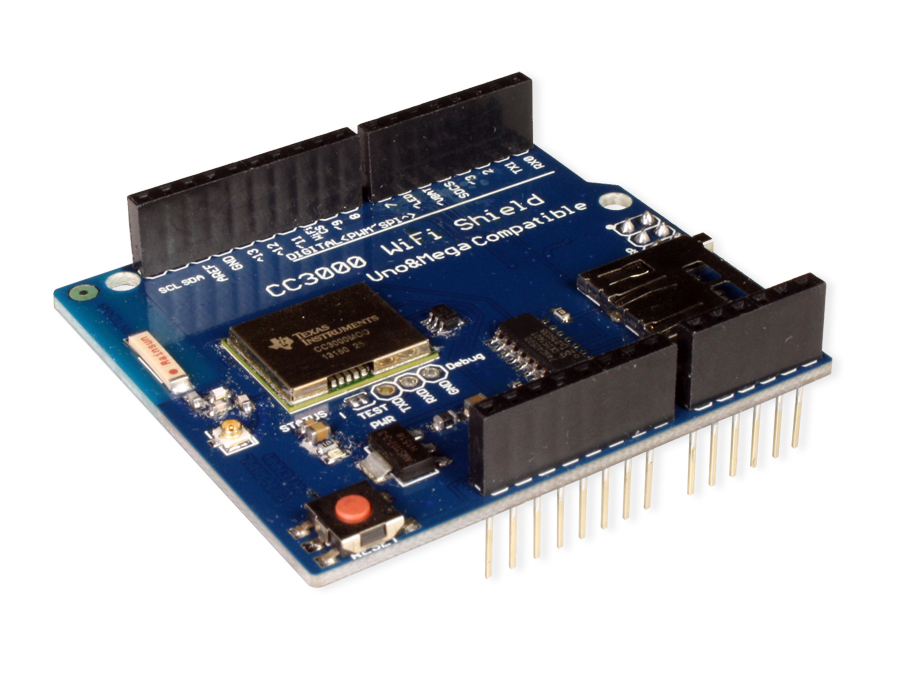 MODULO ARDUINO CC3000 WIFI SHIELD SD