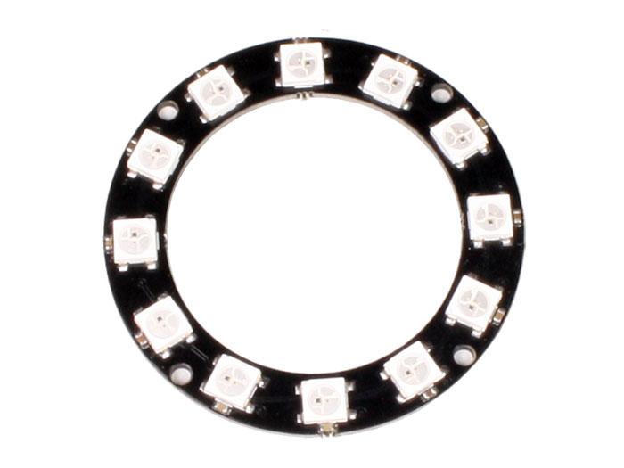 WS2812 x 12 - LED display anel - 12 x WS2812 5050 RGB