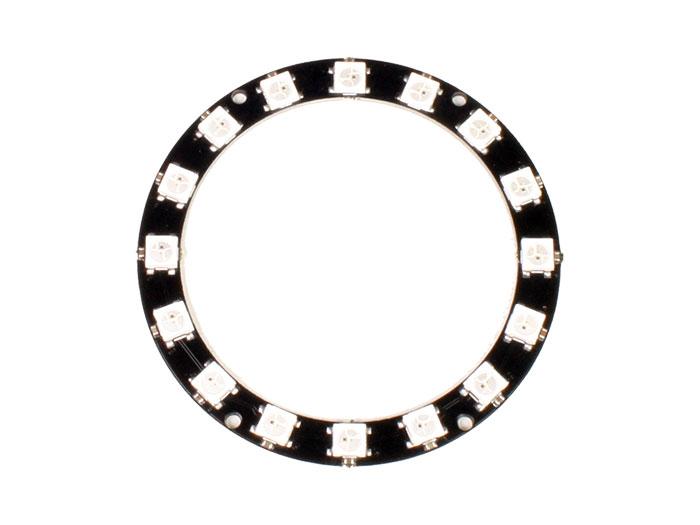 Ring LED Display Module - 16 x WS2812 5050 RGB - 1463