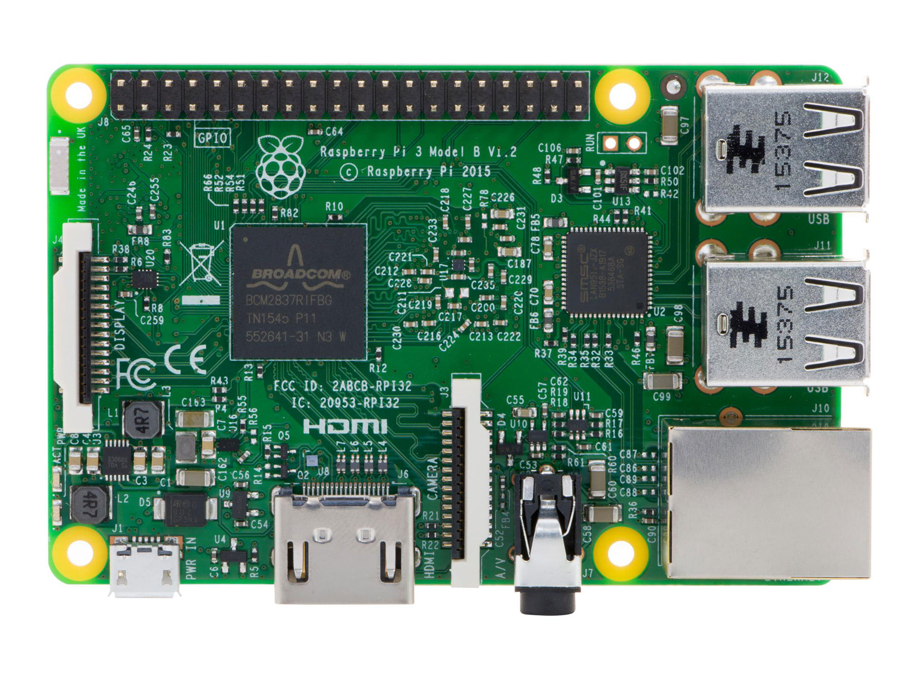 RASPBERRY PI 3 MODELO B+ 1 GB RAM - WIFI - BLUETOOTH (BLE)