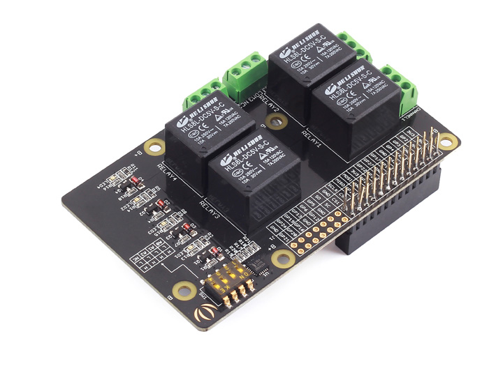Seeed Studio - Raspberry Pi Realy Board - v1.0 - 103030029