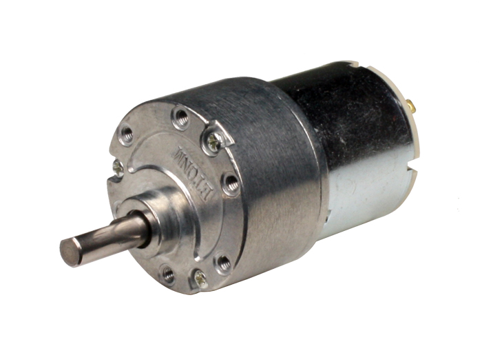 Motor Mediano 37 mm 12 Vcc - 206 rpm - 1:30 - 80417