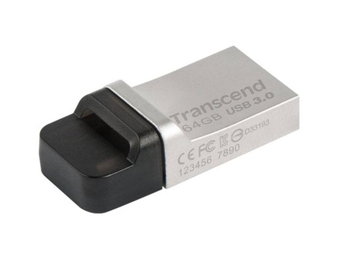 PENDRIVE TRANSCEND 64GB - DUAL - TS64GJF880S