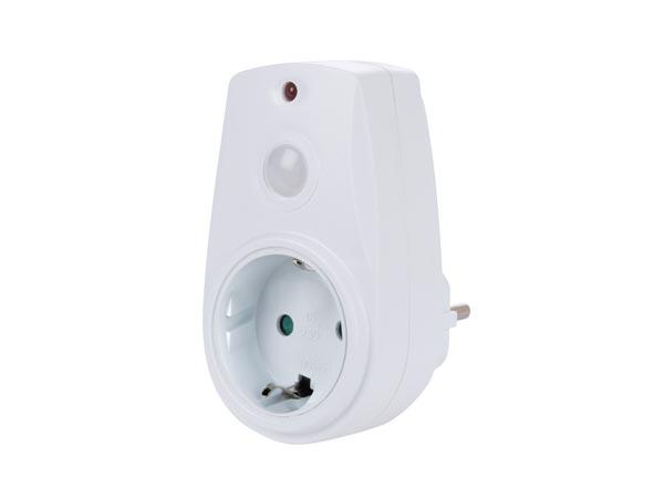 Perel EHT-G - Enchufe Interruptor Crepuscular - Relé Fotoeléctrico 280 W