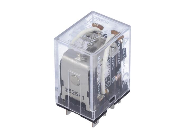 Omron LY2-24DC - Relé Media Potencia 2 CO 24 Vcc