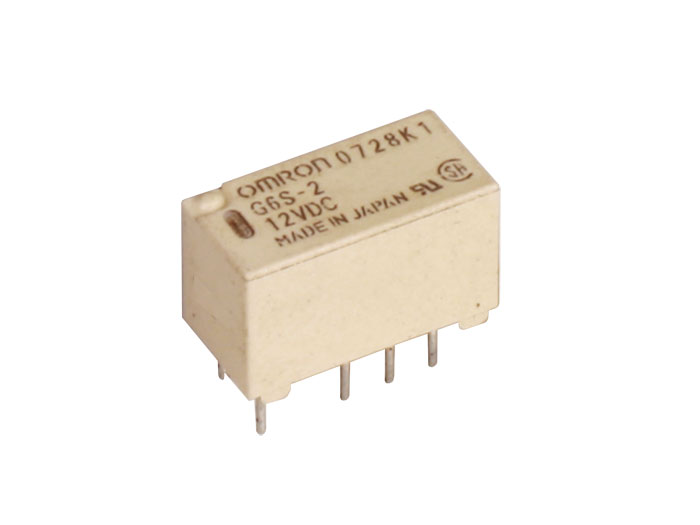 Omron G6S-2 5VDC - Miniature Relay 5 Vdc DPDT 2 CO 2 A - NA5WK, V23079A1001