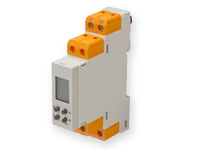 Relé temporizado multifuncional 15 modos - 20 .. 240 Vac Vdc - 600DT-CU