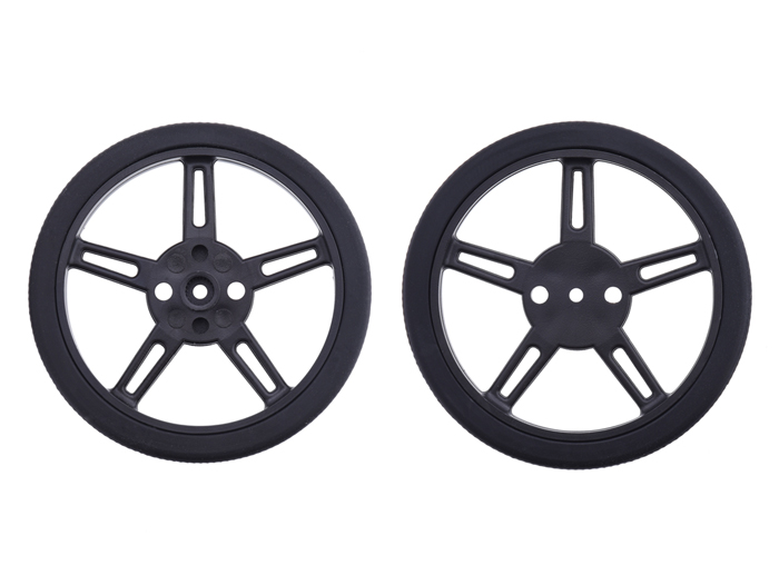 Pair of 62 x 8 mm Wheels for fsr90 - 2819
