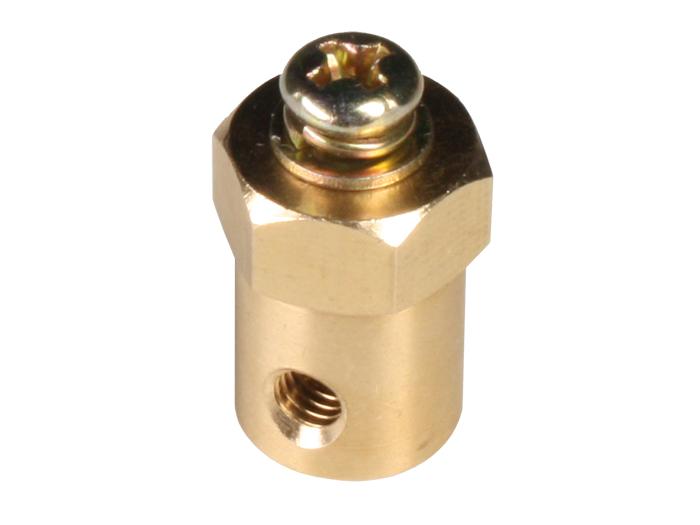 Adaptateur Hexagonal 12 mm pour Moteurs 4 mm