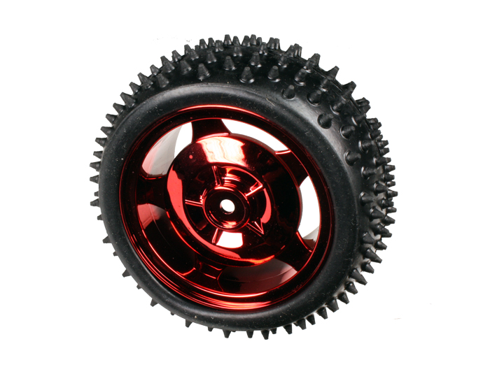 Roue 85 mm 4WD - 2WD - Rouge