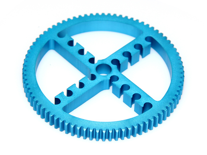 Makeblock - Timing Pulley 80T (80 tooth) - Blue - 83430