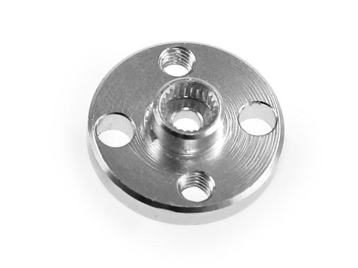 Standard servo motor mounting hub