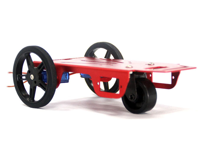 2WD mini robot FT-MC-001 chassis