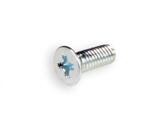 DIN 84 Galvanised-Lead Countersunk Head Screws M3 x 8 - 25 Units
