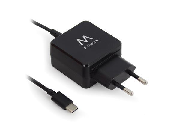 Ewent EW1305 - Bloc d'Alimentation à Découpage USB tipo C - 5 V - 3 A - EM1305