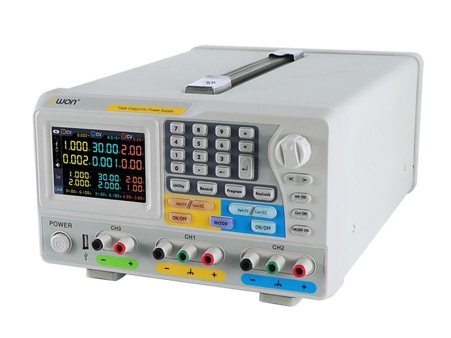 ODP6033 programmable laboratory power supply 2 x 0-60 V - 0-3 A - 0-6 V - 0-3 A