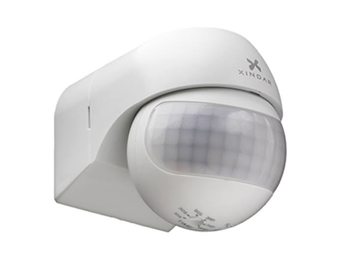 XINDAR SEKKYUR - NANO - wall-mount light with motion detector indoor/outdoor - white