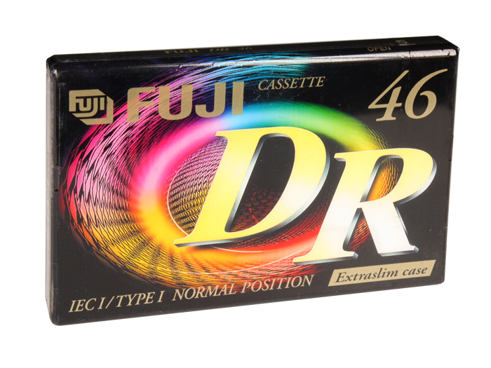 Cassette vierge FUJI - DR 46 - 46 minutes TYPE I