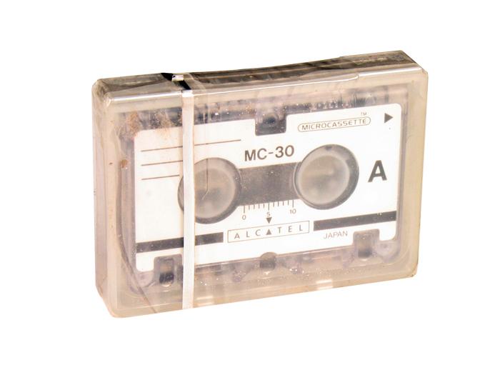 Fita cassete virgem MC-30 - gravador de chamaDAS