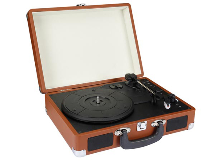 Record player - 3 speeds - with USB and SD card reader