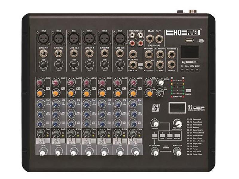 Mesa de mistura - HQ MX8 - HQMX10002
