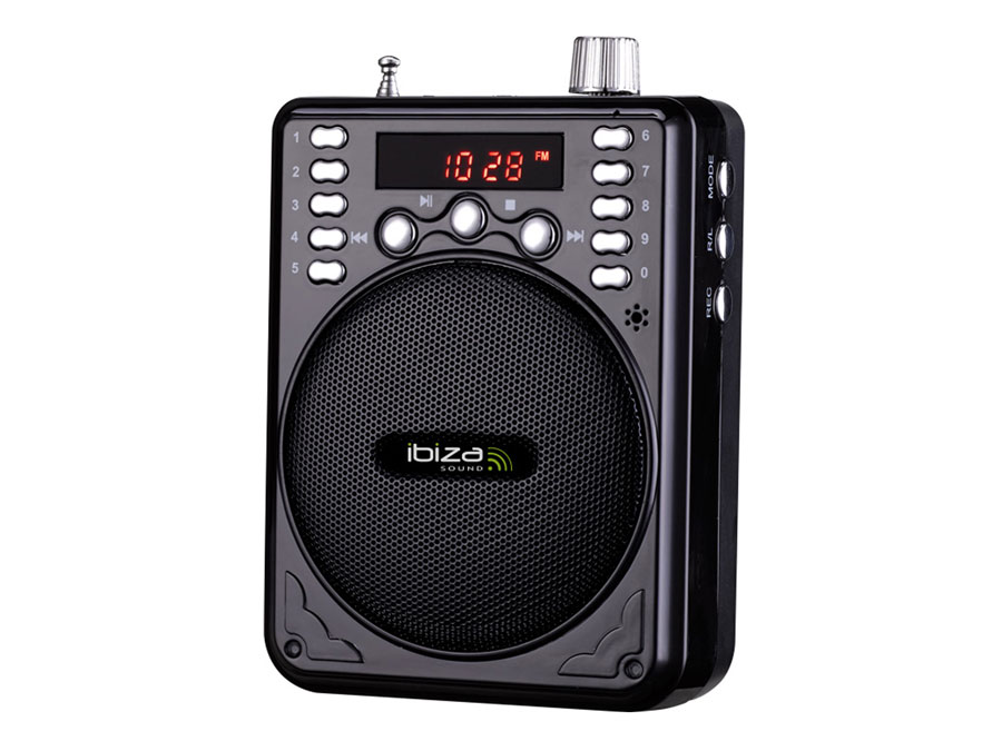 ST030 - portable wireless public address speaker system for conferences, karaoke - bluetooth