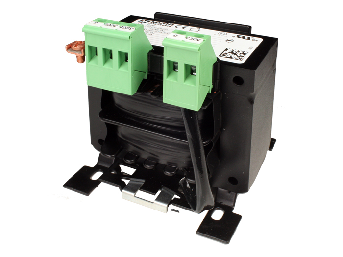 Control Transformer 160 VA 230..400 V / 24 Vv - UL Safety - Suitable for Rail Mount - 86343