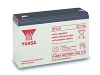 Yuasa 12-6 - 6 V - 12 Ah Lead-Acid Battery - NP12-6