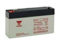 Yuasa 1,2-6 - 6 V - 1.2 Ah Lead-Acid Battery - NP1,2-6