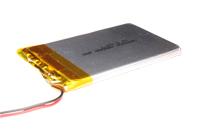 Bateria de Polímero Lítio 3,7 V - 1900 mA