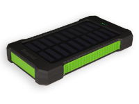 POWER BANK 5V 9000MA CON PANEL SOLAR Y LINTERNA