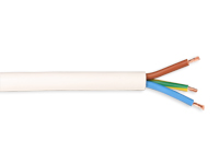 CABLE MANGUERA ELECTRICA BLANCA 3X1,0MM 500V