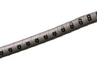 Pliotex - 10 Marcadores Cabo Ø2,2-Ø5mm - Cinzento Nº 8 - PT-V+45-8