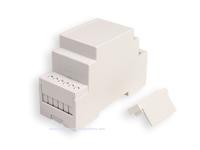Caja Carril DIN 12 Conexiones 58 x 90 x 36 mm