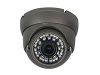 HDTVI CCTV wired dome colour camera 720p 2.8..12 mm IR