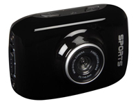 HD Action and sports camera - waterproof camera case