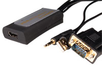 CONVERTIDOR VIDEO VGA, AUDIO A HDMI