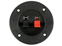 Panel-Mount Speaker Terminal - Circular - Switch - LSC1