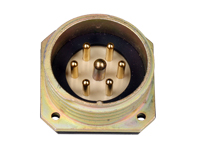 BM30B7 (920237YP) - 7 contacts male receptacle size 30 circular connector