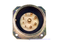 BM30B9 (920237YP) - 9 contacts male receptacle size 30 circular connector