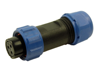 CONECTOR ESTANCO CLIFFCON 68 HEMBRA AEREA 3 CONTACTOS - IP 68 - FM686813 SP1310/S3
